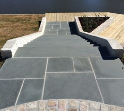 Blue Gray Thermal  Paving & Step Treads