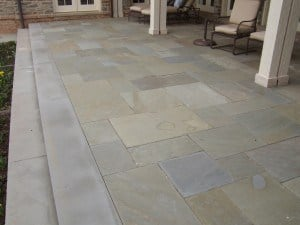 Full Color Terrace with Step Treads