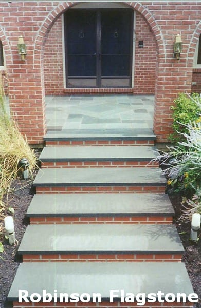 Gray Stair Risers