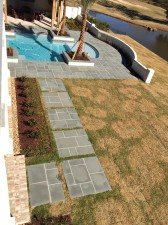 5-0 x 5-0 Blue Thermal Paving Pads