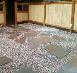 Irregular Stepping Stones