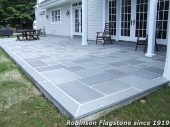 Blue Gray Thermal Patio