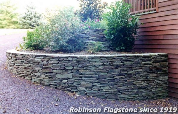 Dry Stack Wallstone Robinson Flagstone