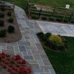 Diamond Cut Paving Pattern Walkway
