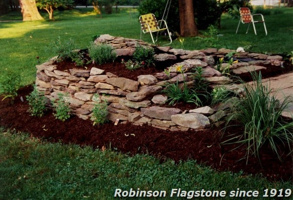 Robinson Flagstone Dry Stack Wallstone Robinson Flagstone