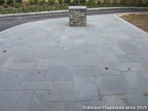 Blue gray flagstone