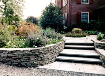Pa. Fieldstone & Colonial Stone Mixed Together