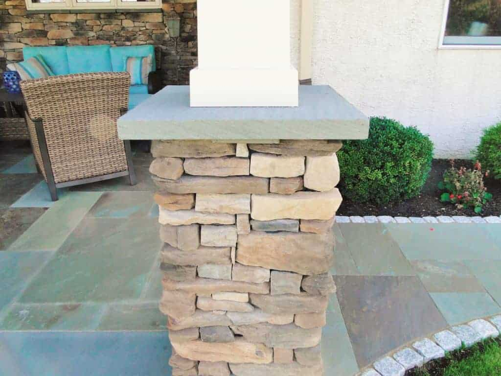 Thermal Bluestone Pier Cap