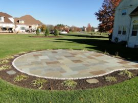 Full Color Range, Natural Cleft Paving