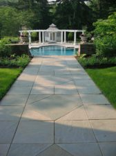 Blue Gray Natural Cleft Walkway