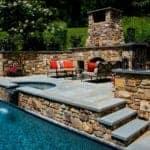 Bluestone Pool & Spa Coping